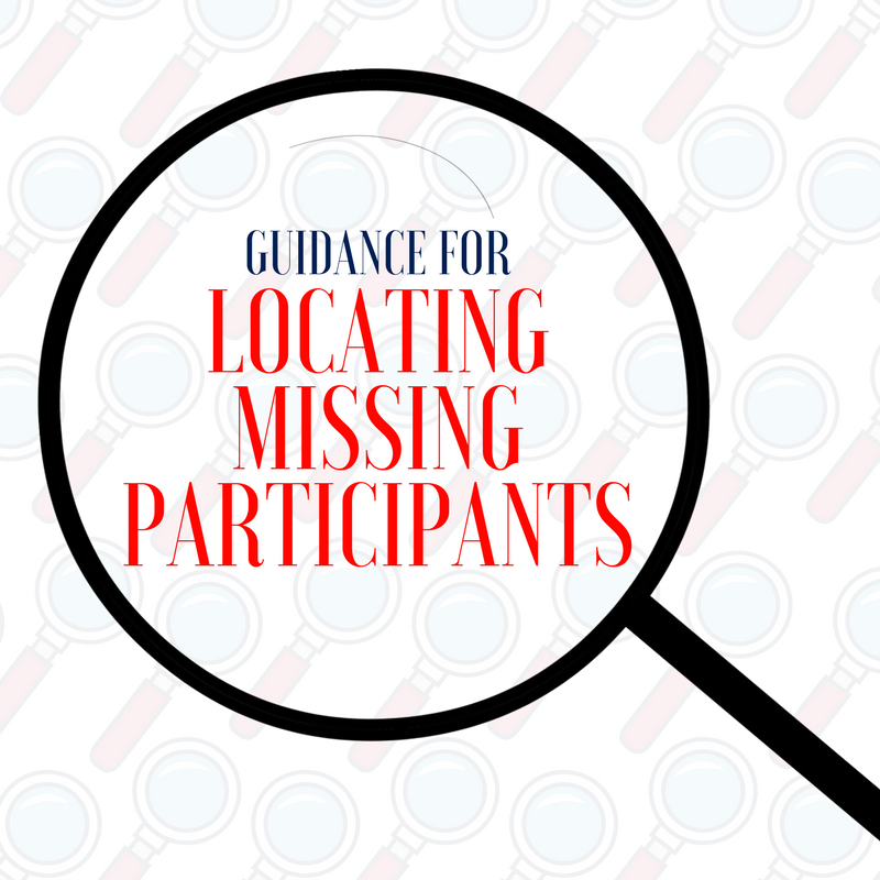 In Search Of: Guidance for Locating Missing Participants