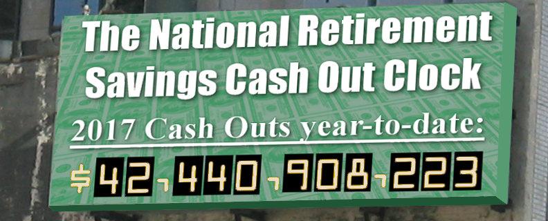 The Cashout Clock is Still Ticking: Let's Stop It!